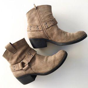 Kork-Ease Shoes - Korks by Kork-ease | Studded Harness Booties